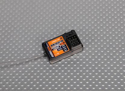 Obrázek Přijímač HK GT2 3ch 2.4GHz pro HK / FlySky + OEM