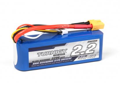 Obrázek Baterie Li-Po Turnigy 2200mAh 3S1P 40C / 50C