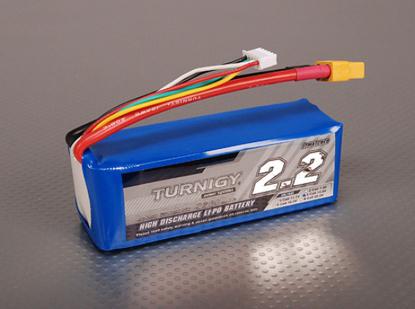 Bild von Baterie Li-Po Turnigy 2200mAh 4S1P 40C / 50C