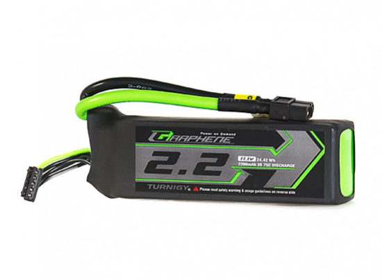 Bild von Turnigy Graphene Panther 2200mAh 3S 75C Battery Pack