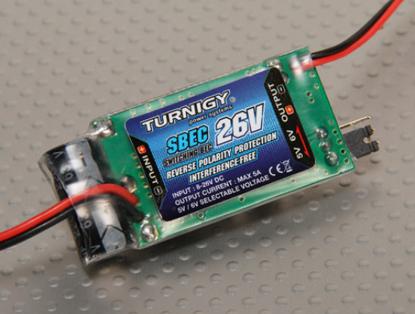 Picture of Externí SBEC Turnigy 5A (8-26V) pro Li-Po