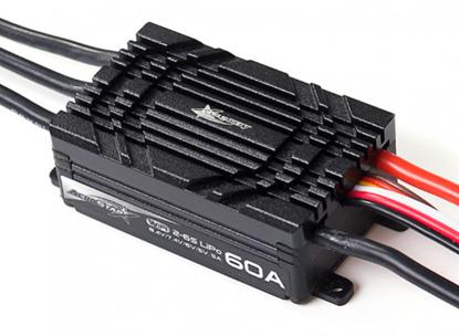 Obrázek AeroStar WiFi 60A Brushless ESC with 5A BEC (2~6S)
