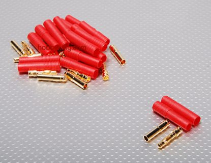 Bild von Konektor HXT 4.0 mm Gold - 93A