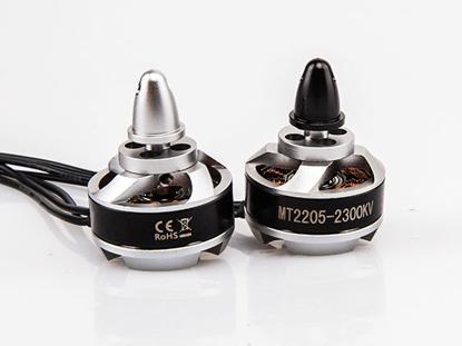 Bild von Rctimer MT 2205 2300KV Self-locking CW CCW Multi-Rotor Motor (1xCW + 1x CCW)