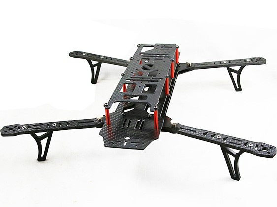 Bild von AlienCopter Bee full Carbon KIT with Clean and Dirty System + PDB
