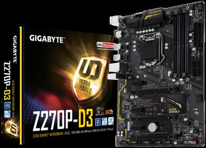 Picture of Základní deska Gigabyte GA-Z270P-D3 1.0, DDR4, PCIe Gen3 x4, SATA