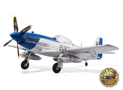 "Obrázek H-King P-51D Moonbeam McSwine 750mm (30"") V2 w/6 Axis ORX Flight Stabilizer (PNF) Gyro"