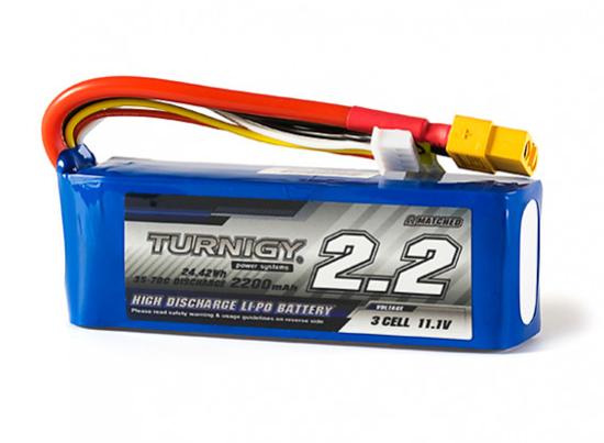 Bild von Baterie Li-Po Turnigy 2200mAh 3S1P 35-70C