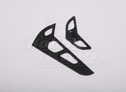Bild von HK-500GT Carbon Fiber Horizontal/Vertical Tail Fin (Align part # H50031)