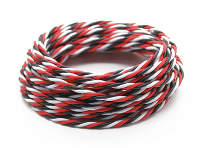 Picture of Servo kabel Twisted 22AWG RBW bez konektorů (1metr)