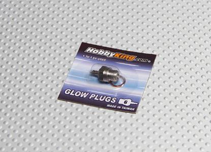 Picture of Žhavicí svíčka HobbyKing Glow Plug No.6 (COLD)