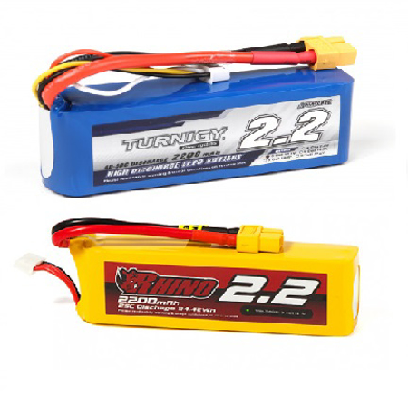 Picture for category TOP 2200mAh 3S