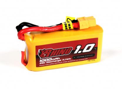 Obrázek Baterie Li-Po Rhino 1000mAh 3S 25C XT60