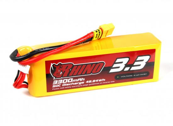 Bild von Baterie Li-Po Rhino 3300mAh 4S 50C XT60