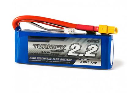 Picture of Baterie Li-Po Turnigy 2200mAh 2S1P 25C / 35C