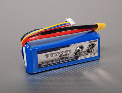 Bild von Baterie Li-Po Turnigy 2200mAh 3S1P 25C / 35C