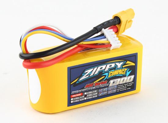 Bild von Baterie Li-Po ZIPPY Compact 1300mAh 4S1P 40C / 50C