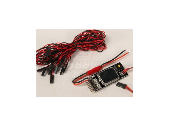 Picture of Dálkové ovládaný spínač přes RC kanál pro 7 různých výstupů
