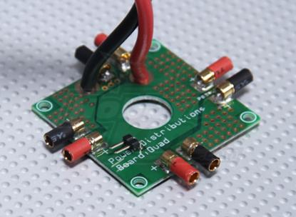 Obrázek Deska pro rozvod napájení pro Quadcopter (HK)