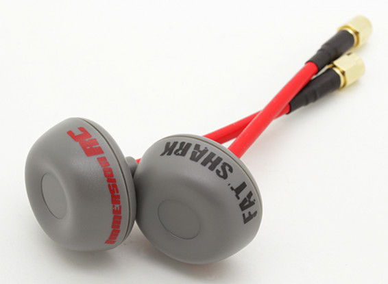 Picture of ImmersionRC 5.8GHz Circular Polarized SpiroNet Antenna V2 (RP-SMA)