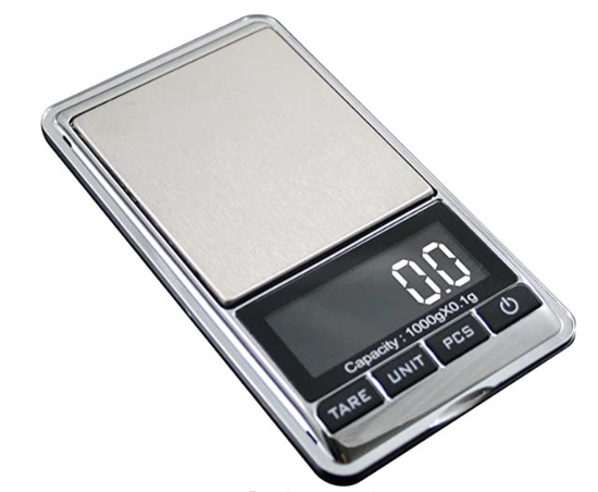 Picture of 1000g x 0.1g Electronic Scale Mini Digital Pocket Scale Weight Balance