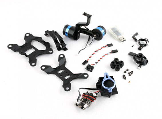 Picture of Tarot T-2D V2 GoPRO 3 Brushless Camera Gimbal and ZYX22 Controller