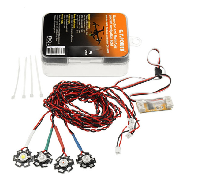 Picture of GT POWER RC Quadrotor and Multi-Axis Aircraft Navigation Light System