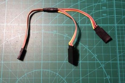 Obrázek Y servo kabel 26 AWG 150mm - typ JR