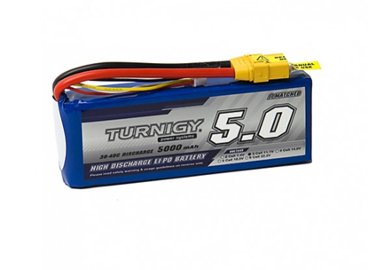 Picture of Li-Po Turnigy 5000mAh 3S1P 30C / 40C (XT90)
