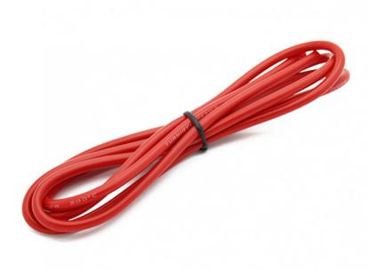 Bild von Kvalitní silikonový kabel Turnigy 14AWG - červený
