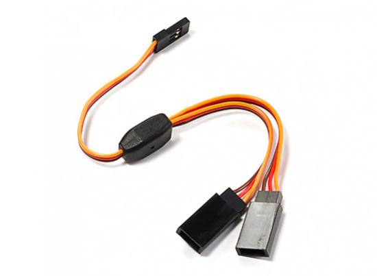 Picture of Y servo kabel 22 AWG 300mm - typ JR