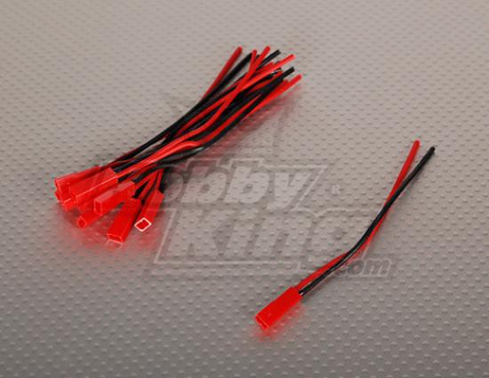 Obrázek Konektor JST včetně kabelu 10cm 1 kus (samice)