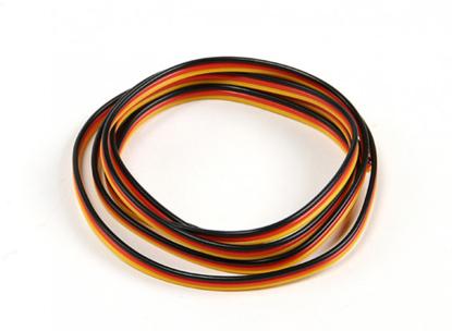 Bild von Servo kabel 22 AWG 1m bez konektorů
