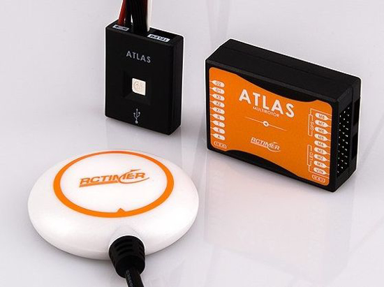 Picture of Řídící systém Rctimer ATLAS pro coptery včetně GPS