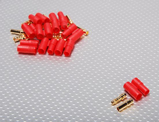Bild von Konektor HXT 3.5 mm Gold - balíček 10 párů + plast