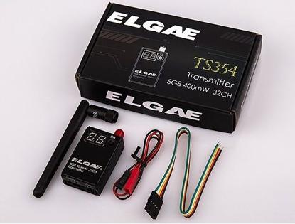 Obrázek Vysílač Elgae 32ch TS354 5.8GHz 400mW FPV - dlouhý dosah