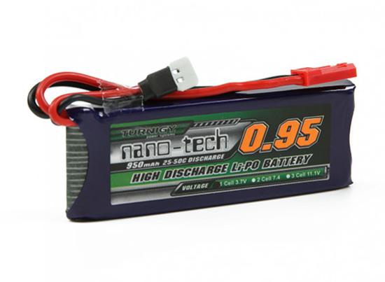 Picture of Turnigy Nano tech Li-Po 950mAh 1S 25C (50C) Walkera V120 a X100