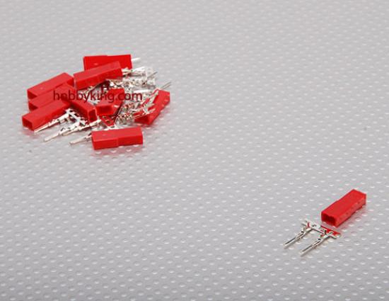Obrázek Konektor JST samice - balení 10ks