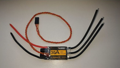 Obrázek Střídavý regulátor V-GOOD 30A w/BEC 4A (Turnigy Plush 32)