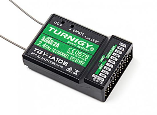 Picture of Přijímač Turnigy iA10B 10CH 2.4G AFHDS 2A pro Turnigy TGY-i10