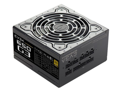 Bild von Zdroj EVGA SuperNOVA 650 G3, 220-G3-0650-Y1, 80+ GOLD, 650W Fully Modular
