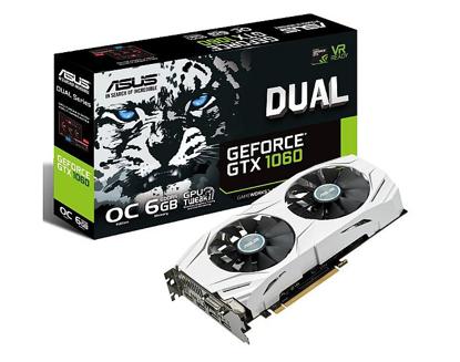 Bild von ASUS GeForce GTX 1060 DUAL-GTX1060-6G, 6GB GDDR5