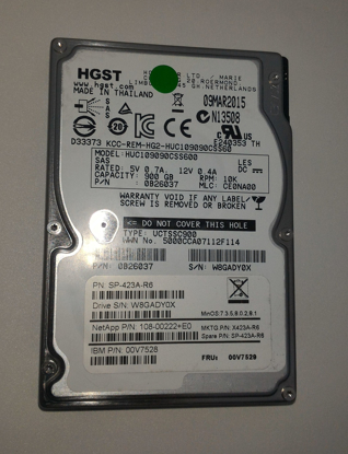 Bild von Hitachi C10K900 HUC109090CSS600 900GB 10K Serial Attached SCSI / SAS Hard Drive