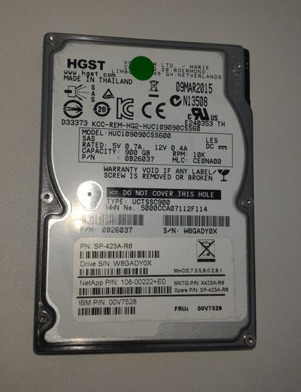 Bild von Hitachi C10K900 HUC109090CSS600 900GB 10K Serial Attached SCSI / SAS Hard Drive