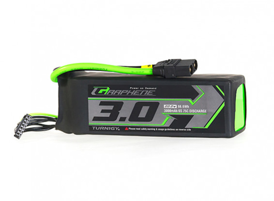 Obrázek Turnigy Graphene Panther 3000mAh 6S 75C Battery Pack