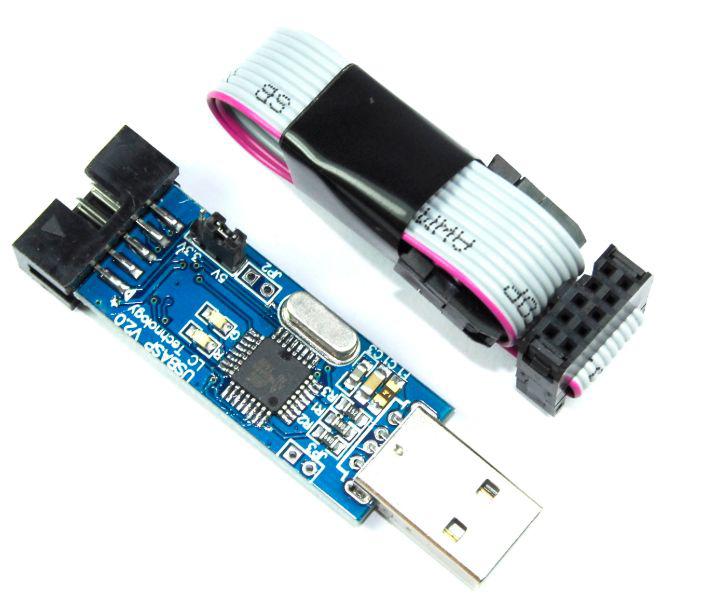 Obrázek USB programátor pro procesory Atmel (10-pin)