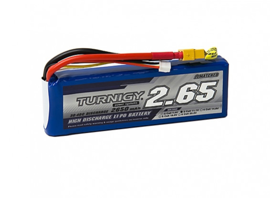 Picture of Li-Po Turnigy 2650mAh 3S1P 30C /40C