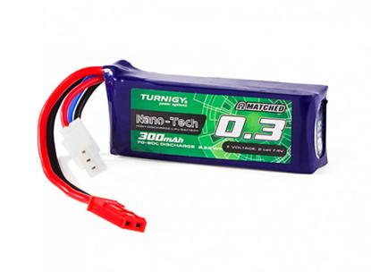 Picture of Turnigy Nano-Tech Plus 300mAh 2S 70C Lipo Pack