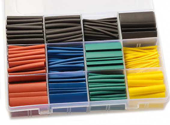 Picture of Heat Shrink Tubing Tube Kit (530pcs)