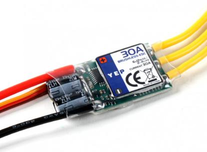 Obrázek Špičkový střídavý regulátor Hobbyking YEP 30A (2~4S) SBEC 5,5V / 4A